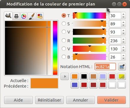 Modification de la couleur de premier plan_001